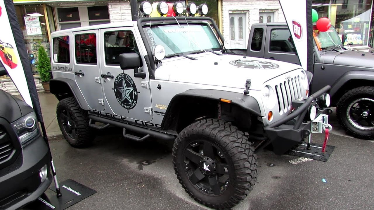 2013 Jeep Wrangler Unlimited Black Ops Exterior