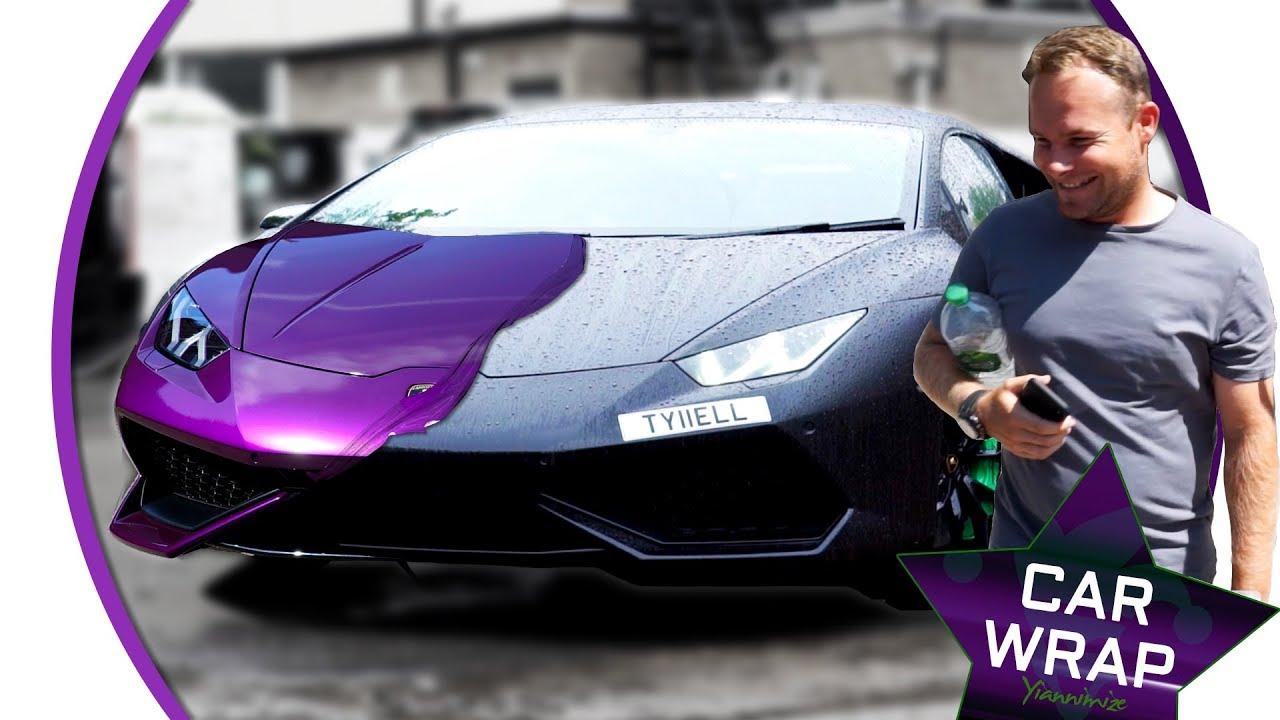 Why So Serious Huracan From Batman Black To Joker Purple Youtube