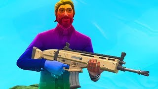 FORTNITE RAINBOW SKIN CHALLENGE...
