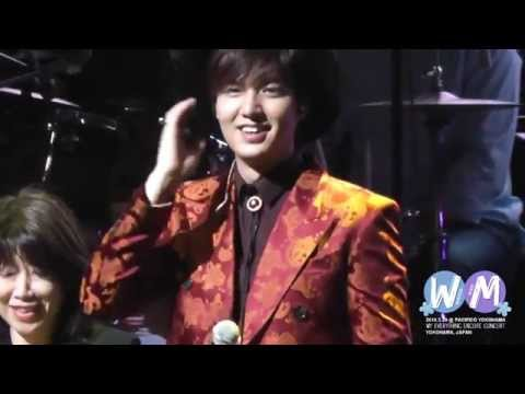 20140329 Lee Min Ho My Everything Encore - Interview + Gwiyomi