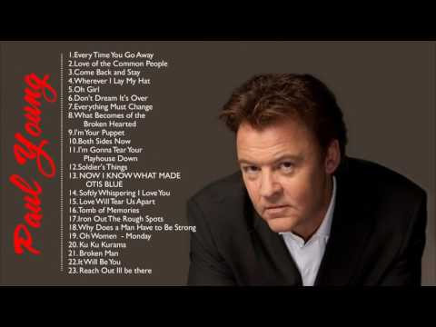 Best Of Paul Young Greatest Hits  Paul Young Playlist All Time Nice