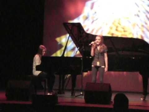 UKM Tromsø 2010 Malin og Kristin My Heart Will Go On