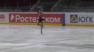Первенство Челябинской области 2 спортивный девушки Короткая программа 7 Елизавета ВАХИТОВА ЧЕЛ