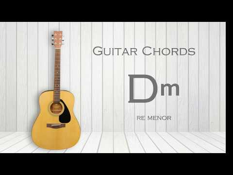how-to-play-dm---guitar-chord-d-minor