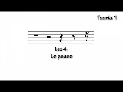 Lezioni musica: Le pause.