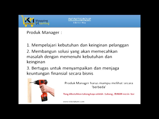 Managemen Produk Product Management