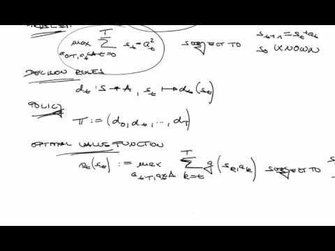 Decision Neuroscience - Markov Decision Processes II (15.12.2017)