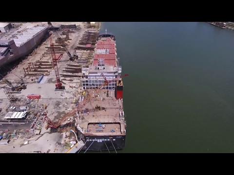Progress Continues on Crowley's Commitment Class Ships