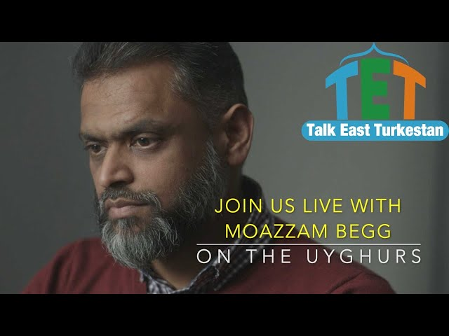 Join us Live with Moazzam Begg. On The Uyghurs.