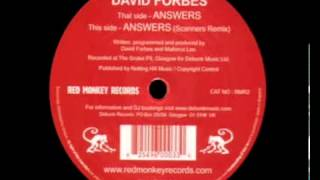 David Forbes - Answers