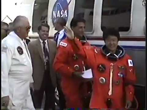 STS-65 Shuttle Columbia Crew Walkout for Launch Personal 1994