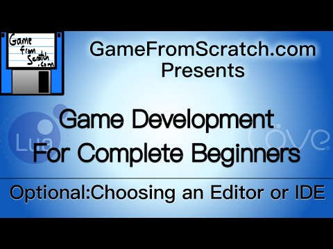 Optional 3: Choosing a Lua IDE or Editor-- Gamedev for Beginners Tutorial Series