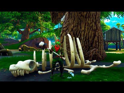 Hay un esqueleto en fortnite battle royale 2 d as for Fortnite temporada 5 sala