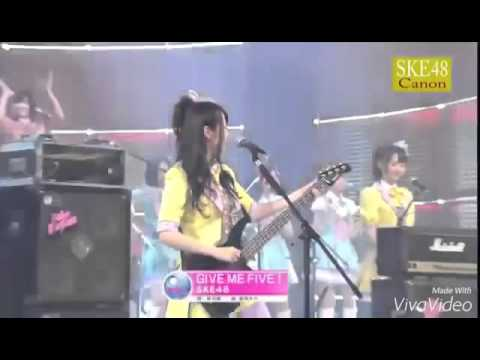 SKE 48 x JKT48 Give me Five + Heavy rotation