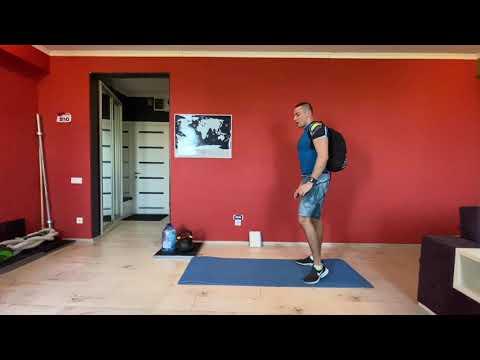Онлайн круговая тренировка дома / Home Workout