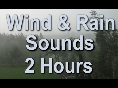 The Sound Of Rain And Wind: 2 Hour Long Sleep Sound