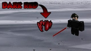 How To Find The Dark Red Crystal In Roblox Star Wars: Jedi Temple on Ilum