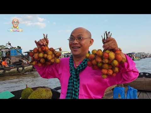Thương quá tô bún riêu quê mình Chợ Nổi Cái Răng (Floating market)( Phần 2)