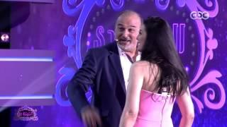 """الليلة دي   """"جمال سليمان يخدع الجمهور ويضرب حورية فرغلي """"بالقلم على وجهها"""