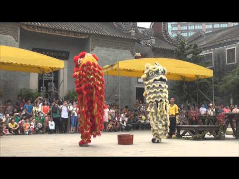 31 - Lion Dance at FoShan ZuMiao (Ancestral Temple)