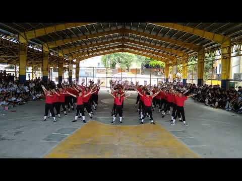 Kalayaan National High School Cheerdance 2k18 Grade 10 Section 9 REDCROCS