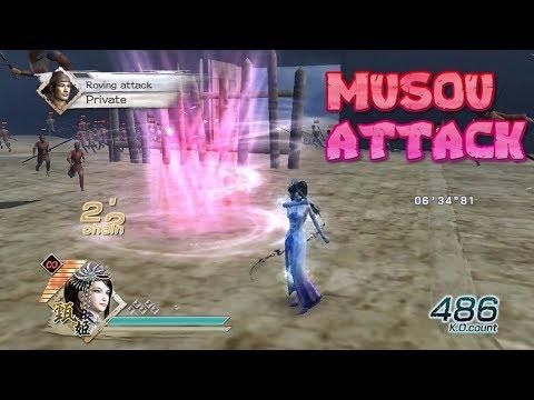 DYNASTY WARRIORS 6 | ALL MUSOU ATTACKS & COMBO SKILL NORMAL (Full Energy)