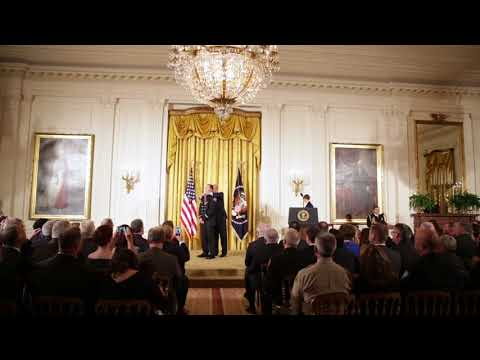 President Trump Hosts the Public Safety Medal of Valor Awards Ceremony at the White House