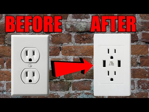 how-to-install-a-*new*-usb-wall-outlet-easy