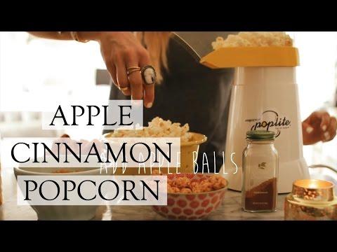 Apple Cinnamon Popcorn | Healthy Popcorn Recipe
