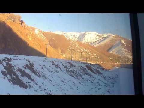 Из Ташкента в Андижан через перевал. From Tashkent to Andijan over the pass.