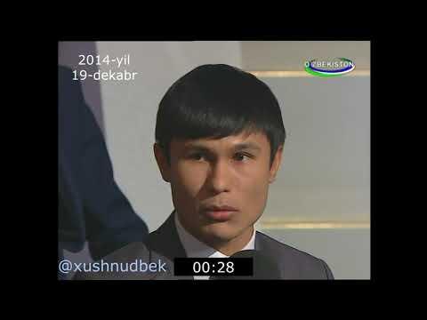 Xushnudbek Xudoyberdiyev: 1 daqiqada partiyalar haqida fikrlar (2014-yil)