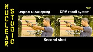 Glock 17 gen 3 Recoil test with DPM Recoil Reduction System