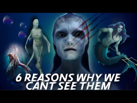 The EVIDENCE of Real Mermaids AND WHY WE CANT SEE THEM?