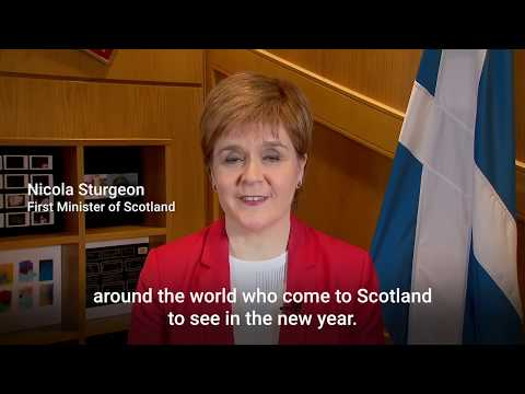 First Minister Nicola Sturgeon gives her 2019 New Year's Message