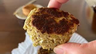 밤콩으로 만드는 크로켓, falafel 만들기
