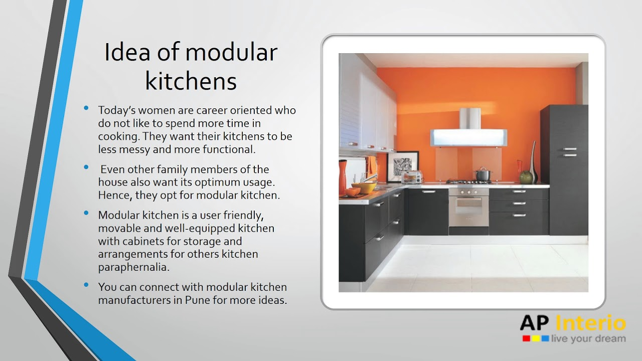 Modular Kitchen Manufacturers in Pune - YouTube