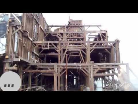 Reclaimed Wood From Old Globe Grain Elevator Youtube
