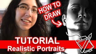 Tutorial: How to Draw Realistic Portraits [Digital]
