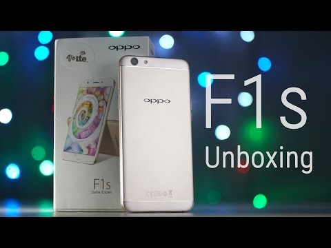 OPPO F1s - Unboxing & Hands On!