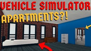 Buying an APARTMENT! | Roblox Vehicle Simulator Update