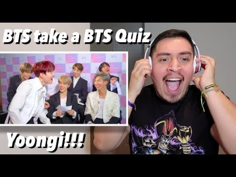 BTS Take BuzzFeed's 'Which Member Of BTS Are You?' Quiz REACTION