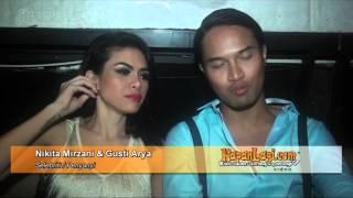 Garap Video Klip FLIRTING, Nikita Mirzani Tanpa Baju Seksi