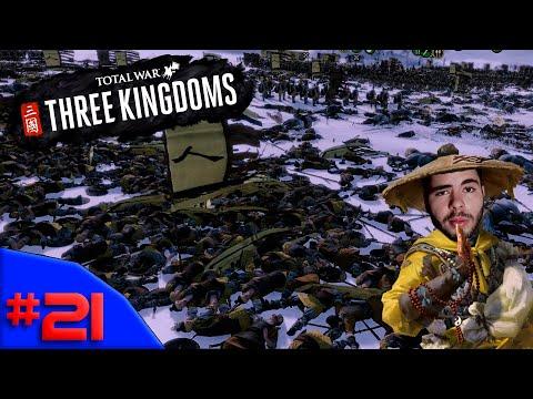 NÃO SÓ DE VITÓRIAS SE DA UMA GUERRA - TOTAL WAR: THREE KINGDOMS #21 - (Gameplay / PC / PT-BR)