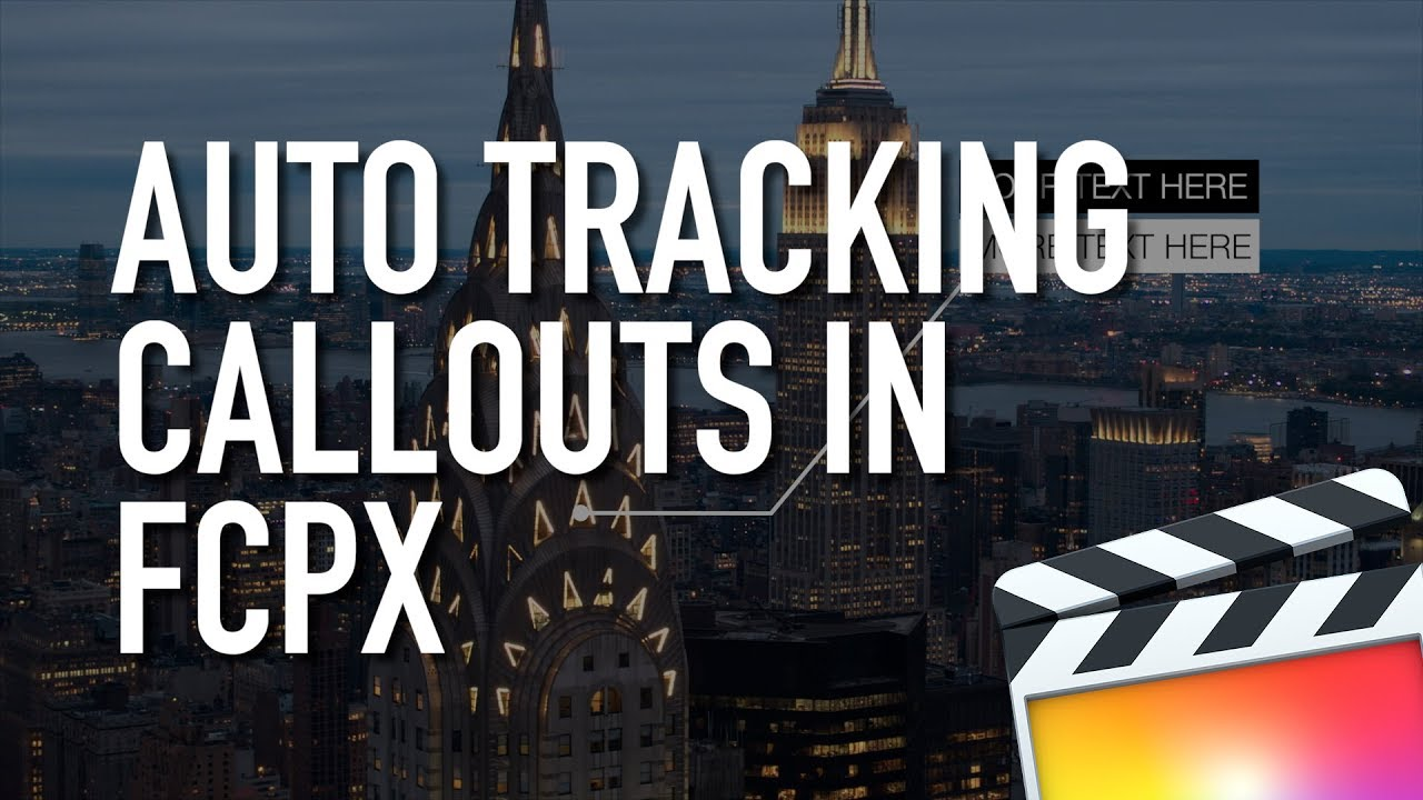 Tracking Callouts for Final Cut Pro