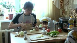 Острый перец по корейски