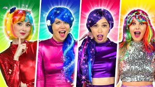 THE SUPER POPS MAGIC HAIR HACKS. CUT AND COLOR HAIR TRANSFORMATIONS. Totally TV Originals.