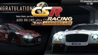 CSR Racing Update!: CSR Racings 3rd Anniversary, Season 42 reward, and New Cars