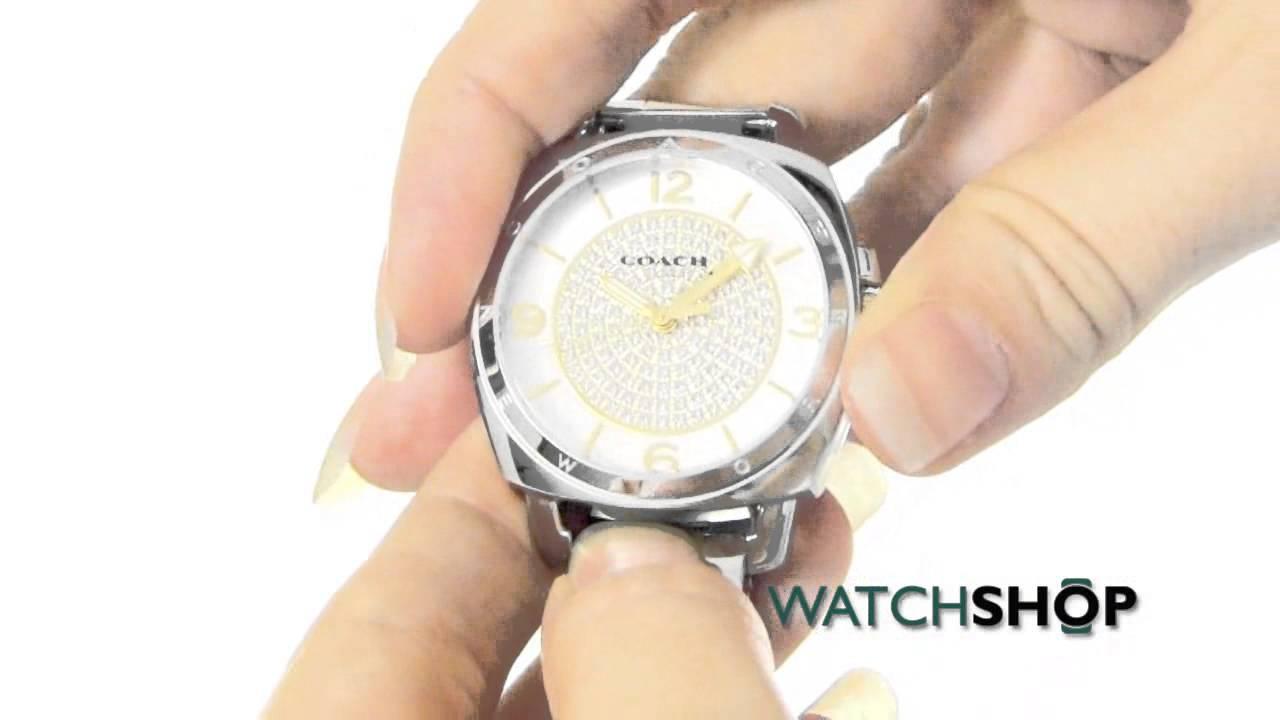 af80506f9fdbc Coach Ladies  Boyfriend Small Watch (14501998)