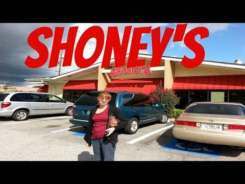 Having Dinner at Shoney
