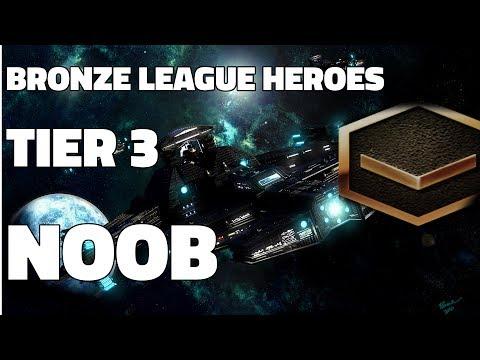BRONZE LEAGUE HEROES #40 - TIER 3 NOOB - BlackWicked vs EliteLaser
